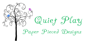 Paper piecing designs