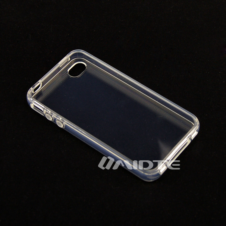 Clear TPU Back Case Cover Skin Cover for iphone 4 4G 4S