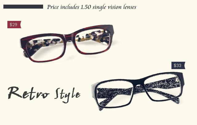 Firmoo Free Retro Eyeglasses