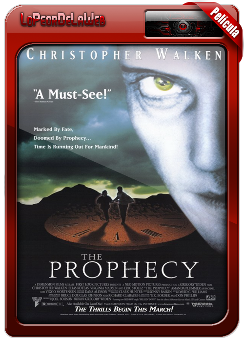 The Prophecy (Ángeles y Demonios) 1995 [BrRip | Dual | Mega]
