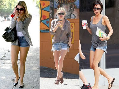 LOOKS COM SHORTS JEANS 2013