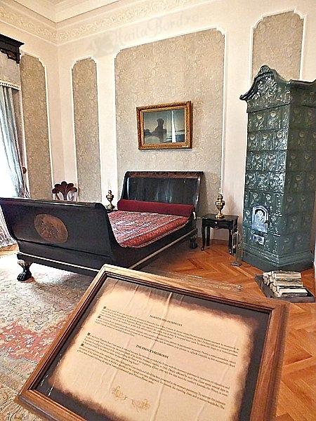 dormitorul domnului palat ruginoasa