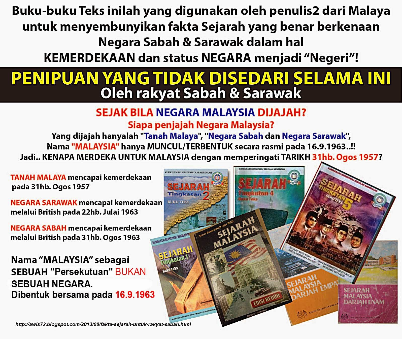 """BOIKOT 31 OGOS 1957 """"Kemerdekaan Malaysia"""" ~ Nipuhawang"""