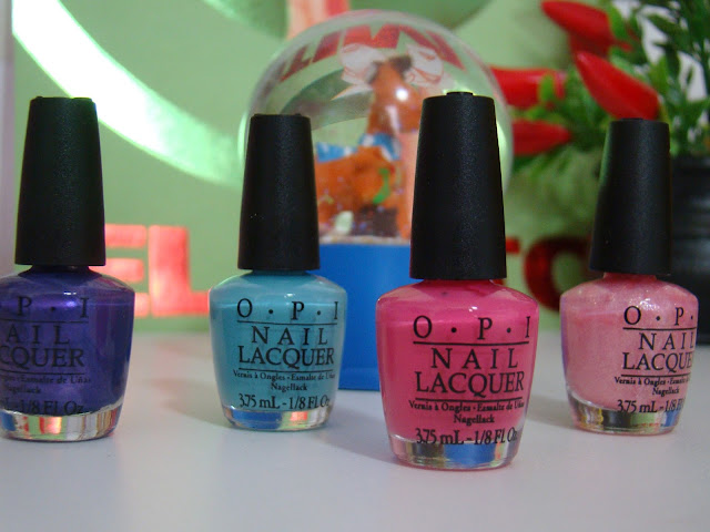 Kit de mini esmaltes OPI