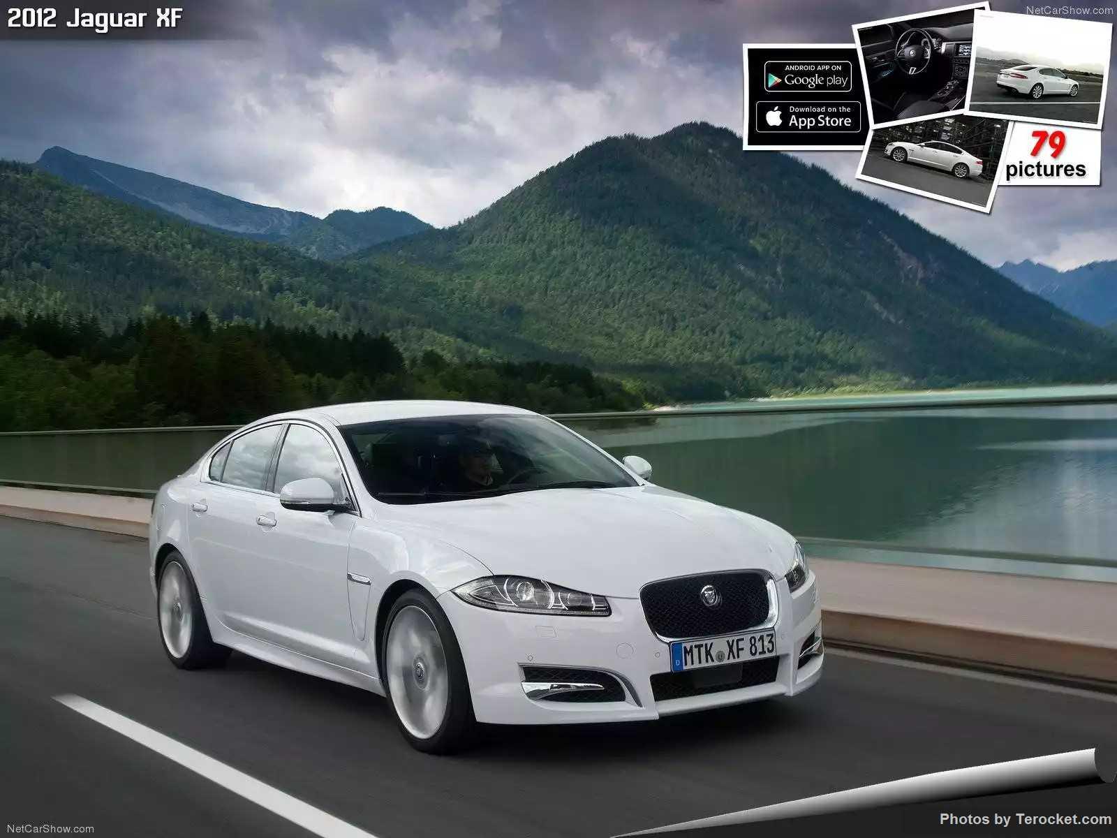 Hình ảnh xe ô tô Jaguar XF 2012 & nội ngoại thất