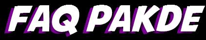 FAQ PAKDE