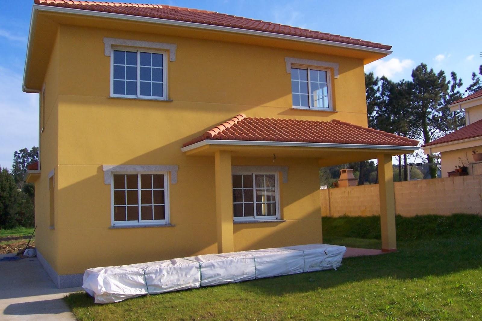 Decoraci n y afinidades colores para las fachadas - Pintura exterior colores ...