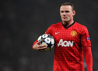 Wayne Rooney Manchester United Striker 2013-2014