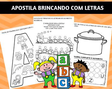 APOSTILAS EDUCAÇÃO INFANTIL