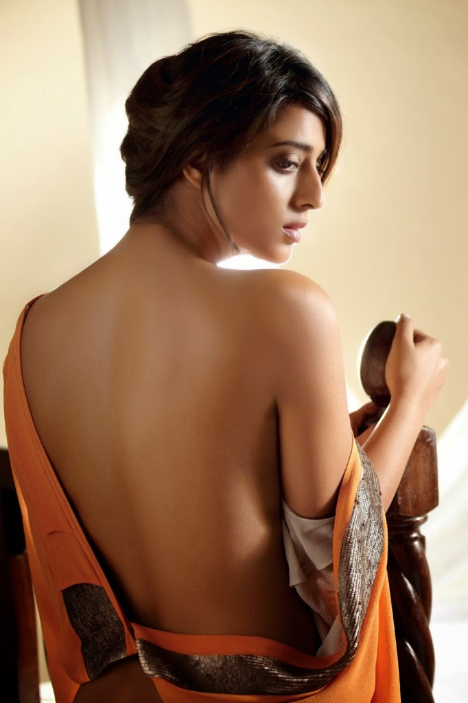 Mahie Gill Backless in Maxim Photoshoot