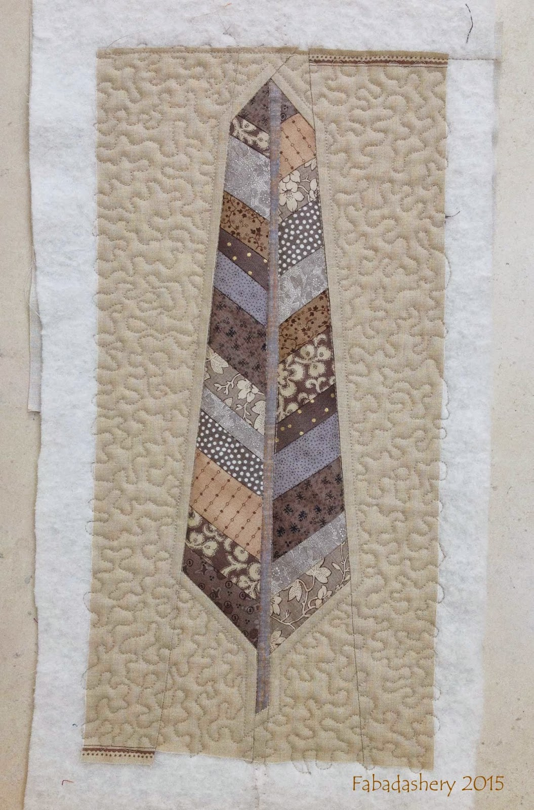 Free Motion Meander quilting bachground