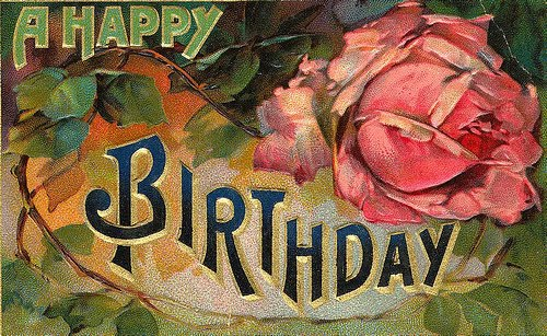 Vintage Happy Birthday Cards