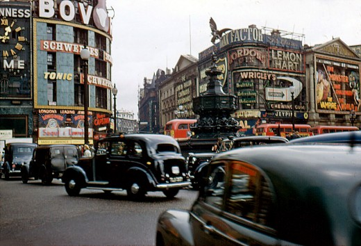 When Is Exposition In London Old Cars In Oxford Circus