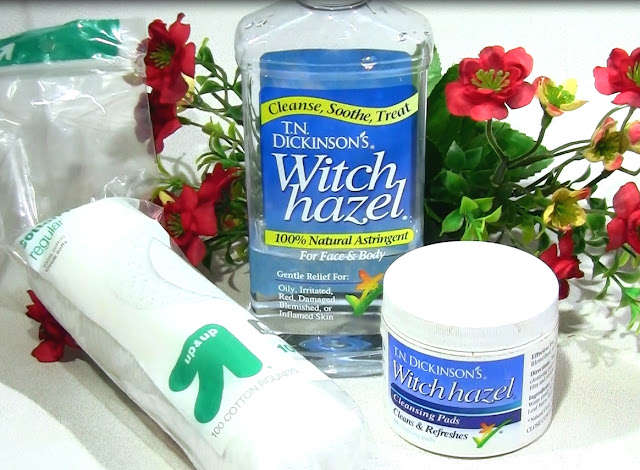 Witch Hazel Cleansing Pads