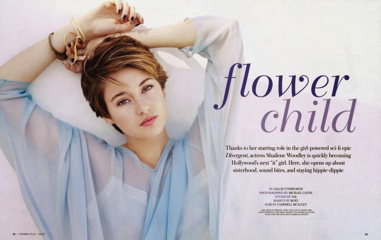 Shailene Woodley HQ Pictures Bust Magazine Photoshoot February / March 2014