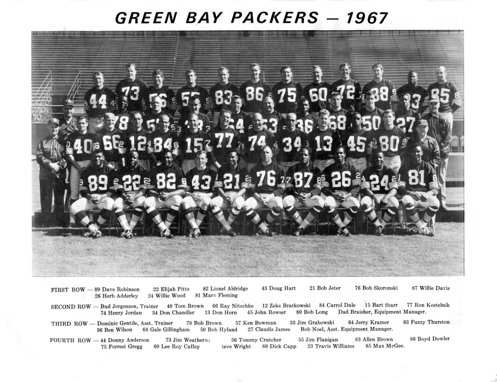 1967 Green Bay Packers season