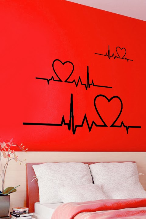 Heart Day 2014 wall decor