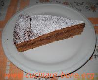 ricetta torta con farina di castagne