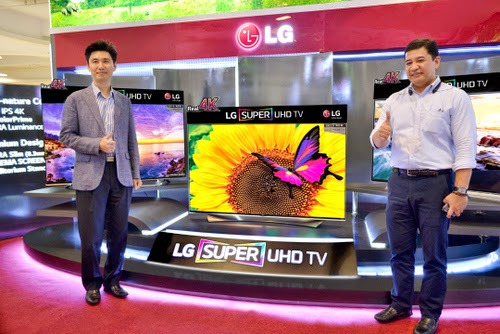 LG Super Ultra HD TVs with IPS 4K