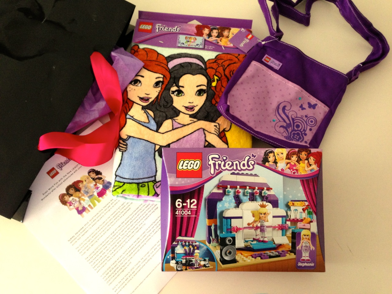 Lego friends thank you for Lovely hotel