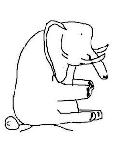 elephant on chest