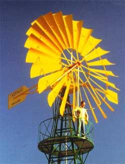 Energias renovables y ambiente historia de la energ a e lica for Piscina molino de viento y sombrilla