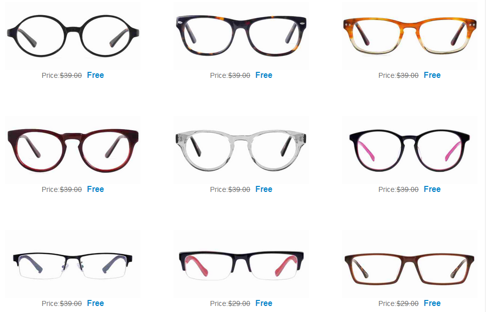 Free Eyeglass Frames from Firmoo The Products Blog
