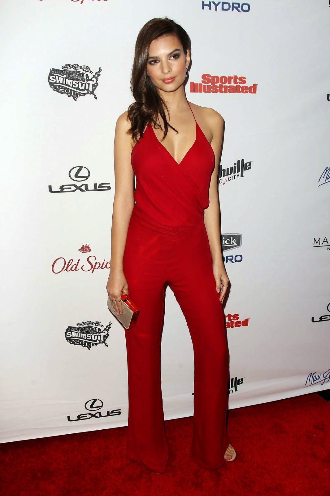 Emily Ratajkowski – 2015 Sports Illustrated Swimsuit Issue Celebration in NYC