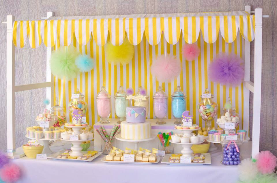 the blog fairy floss pastel baby shower by sugar coated mama