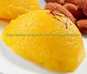 Badam/Almond halwa