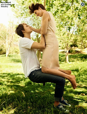 Ansel Elgort and Shailene Woodley Photoshoot, The Fault in Our Stars, TFiOS