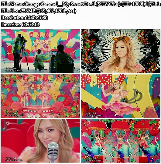 Download PV Orange Caramel (Yasashii Akuma / やさしい恶魔) - My Sweet Devil (SSTV Plus Full HD 1080i)