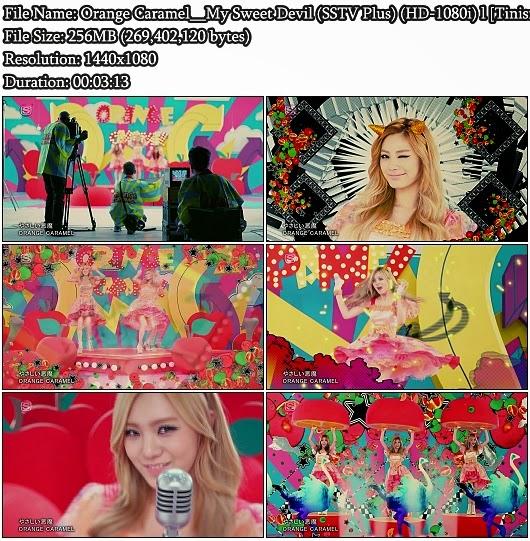 Download PV Orange Caramel (Yasashii Akuma / やさしい恶魔) - My Sweet Devil (SSTV Plus Full HD 1080i)