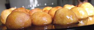 filhós de batata doce