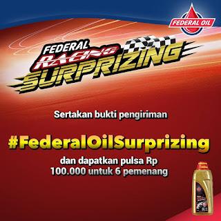 Info Kuis - Kuis Federal Oil BerhadiahPulsa Senilai Total 600K
