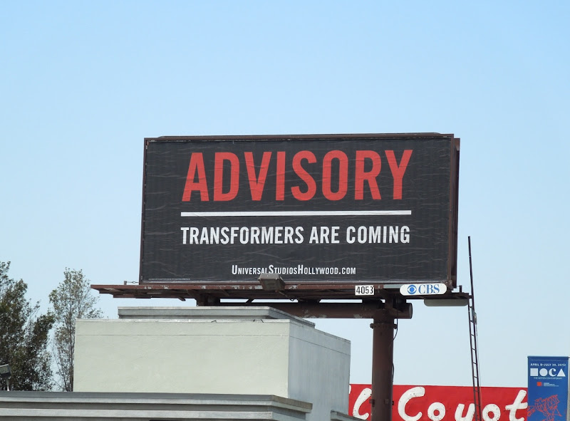 Transformers Advisory billboard