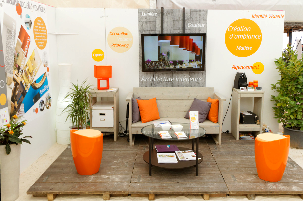le blog d 39 alizarine d co notre stand salon international