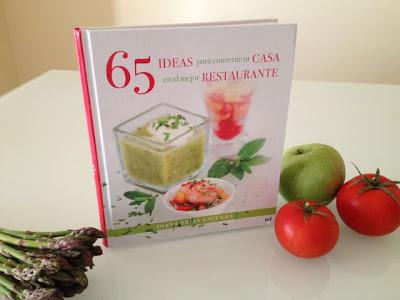 Libro 65 ideas para convertir tu casa en el mejor restaurante. Blog Esteban Capdevila