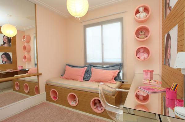 Arquitetura feminina quartos de meninas incr veis for Programa decoracion habitaciones