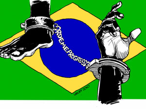 A dura realidade do negro no Brasil.