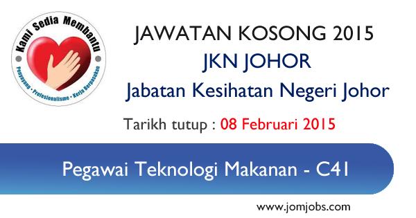 Jawatan Kosong JKN Johor 2015 Terkini - Jabatan Kesihatan Negeri Johor