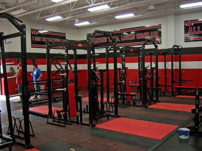 Powdersville High School Weight Room Images Frompo
