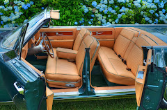 Custom coachwork in a 63 Lincoln