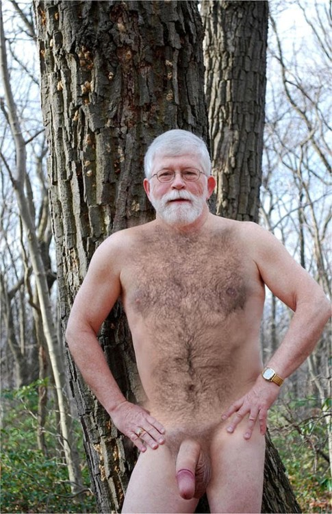 Old Mature Hairy Beard Older Man Dad S Cock