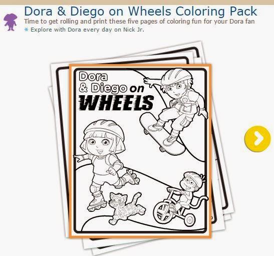 Dora la Exploradora: Divertidas Imágenes para Colorear. | Oh My ...