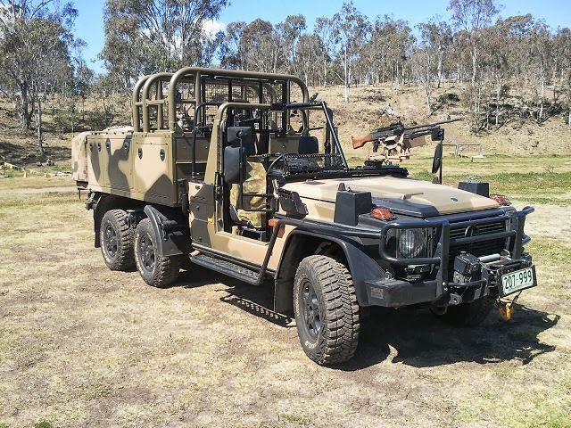 World defence news australian army will take delivery of for Mercedes benz military vehicles