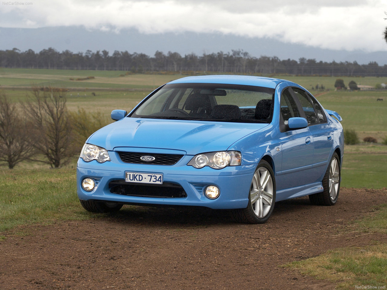 Ford - Populaire français d'automobiles: 2006 Ford BF MkII Falcon XR8