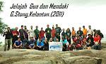Jelajah Gua & Mendaki G.Stong