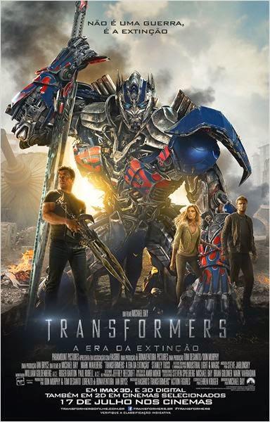 """Poster do filme """"Transformers: A Era da Extinção"""""""