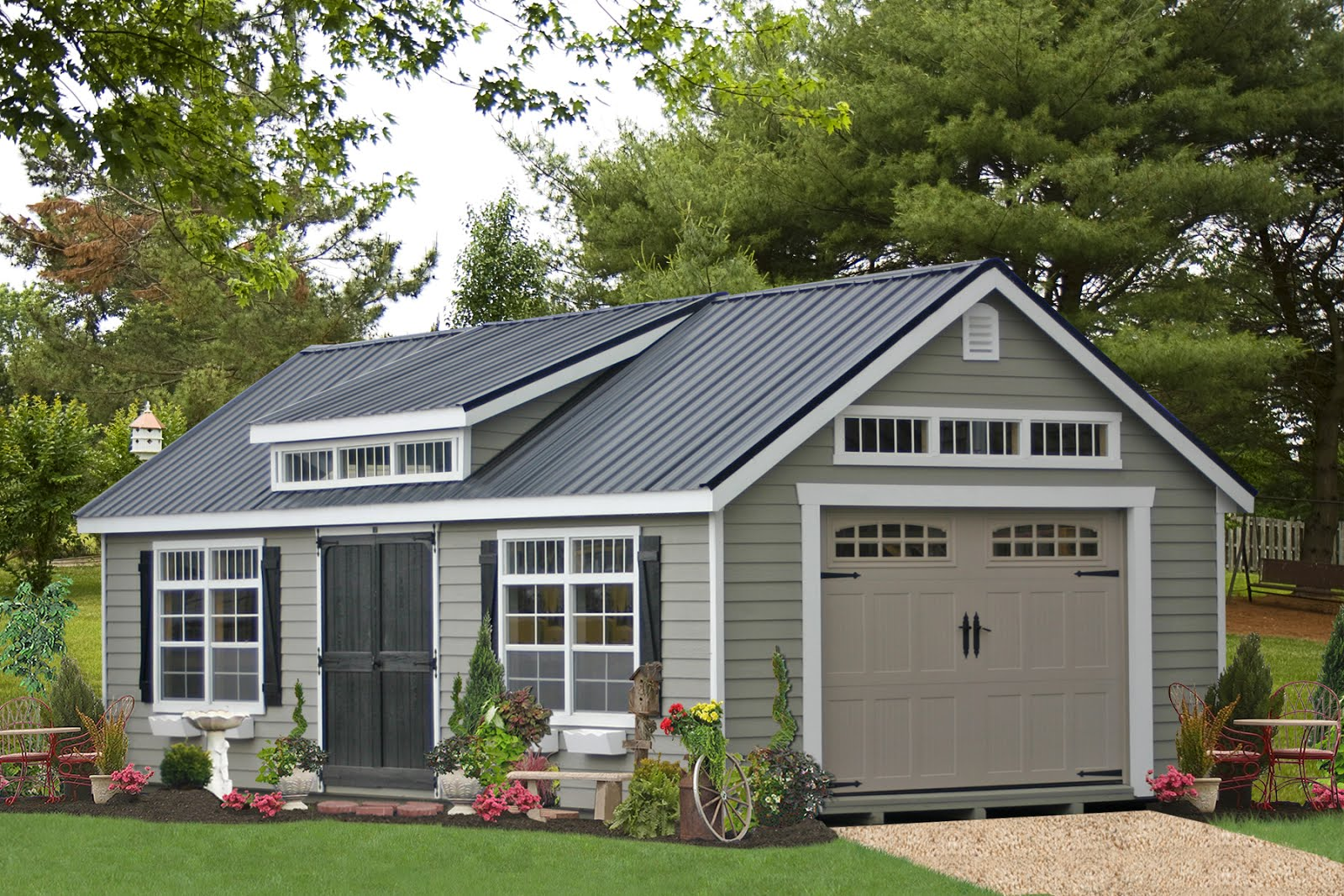 garage home photo with of prefabricated ideas garages plans best loft nice smalltowndjs prefab